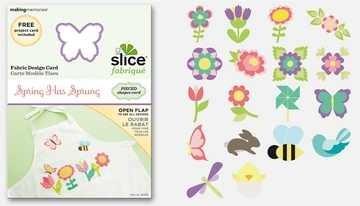 SLICE Fabrique Designkarte spring has sprung 36488