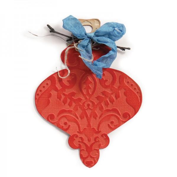 Sizzix Stanzform BIGZ mit Prägefolder Ornament # 5 / Ornament # 5 657364 / 657347