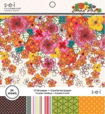 Paper Pad SEI Sunny Day 15,2 cm x 15,2 cm 8-5497