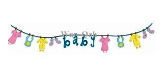 Sizzix Stanzform Sizzlits Border Babywäscheleine / baby clothes line 654892