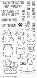 My Favorite Things Clear Stamps Katze / Cool Cat BB-33