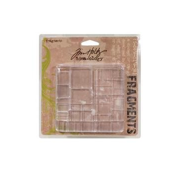 Tim Holtz Idea-ology Fragments Squares & Rectangles TH92484