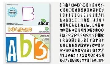 SLICE Design Karte Hodge Podge ( MS + ) 33751