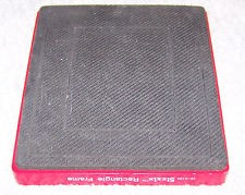 Sizzix Stanzform Originals LARGE Rechteck # 1 / rectangle # 1 38-0810