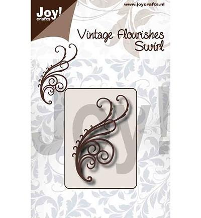 Joycrafts Stanzform Swirl / Vintage Flourishes Swirl 6003/0092