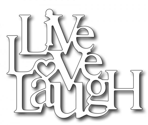 Frantic Stamper Stanzform Live Love Laugh FRA-DIE-09271