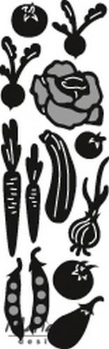 Marianne D Craftables Stanzform Gemüsegarten / Vegetable Garden CR1393