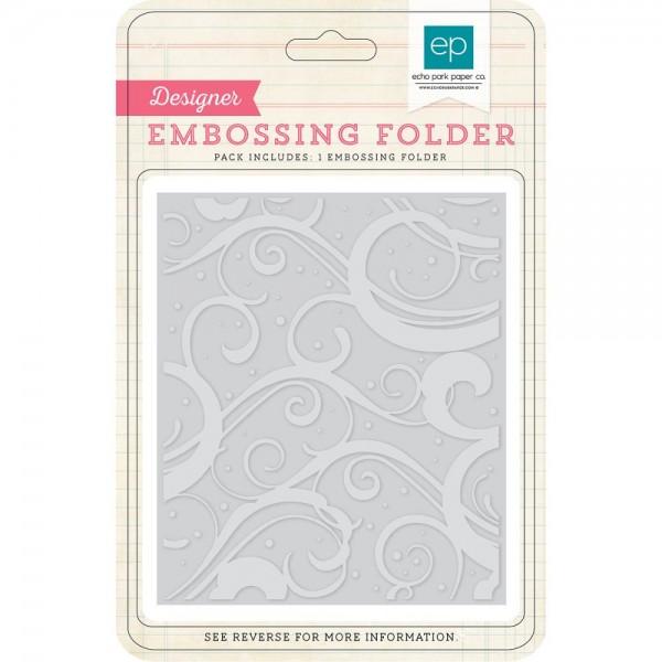 Echo Park Paper Embossingfolder Winter Chill HW95035