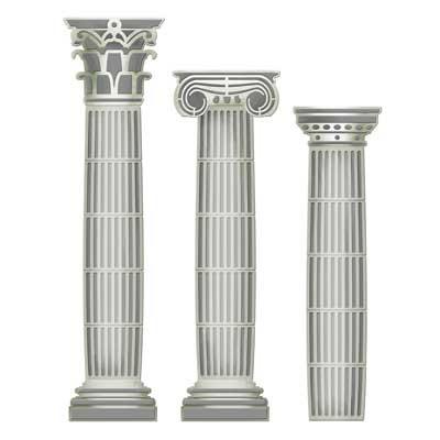 Spellbinders Stanzform Architecture Columns S4-122