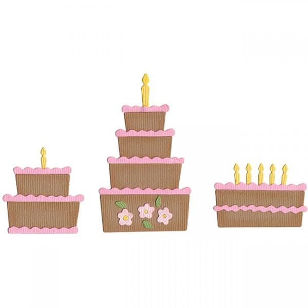 Quickutz Stanzformen Kuchen Set / cake Die Set QKDS-02
