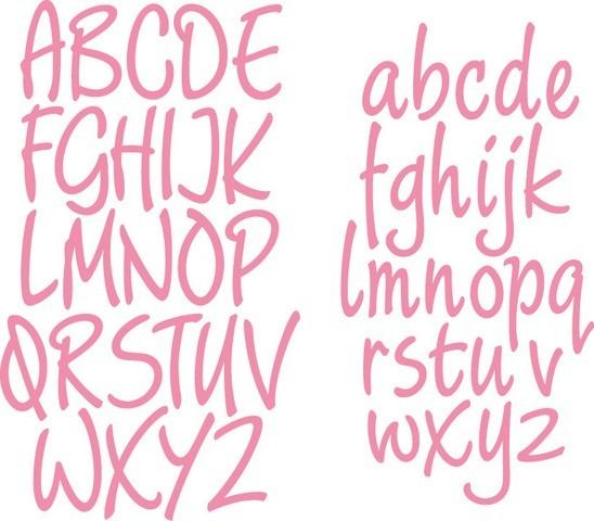 Marianne D Collectable Alphabet Groß-u. Kleinbuchstaben / Charming Alphabet COL1397