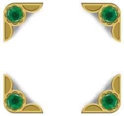 Crop-A-Dile III Buchecken Emerald Gem 41415-5