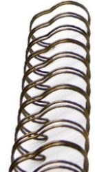BINDITALL Drahtbinderinge ANTIQUE BRASS ,Durchmesser 0,95 cm