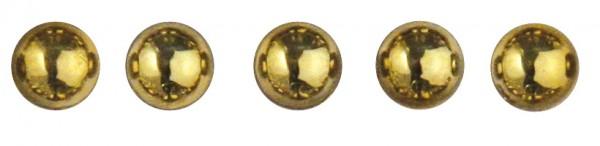 Rayher Plastik-Halbperlen selbstklebend 5 mm GOLD 15-118-06