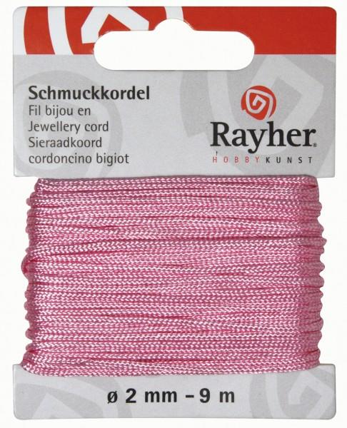 Schmuckkordel 2 mm ROSÉ 89-569-16