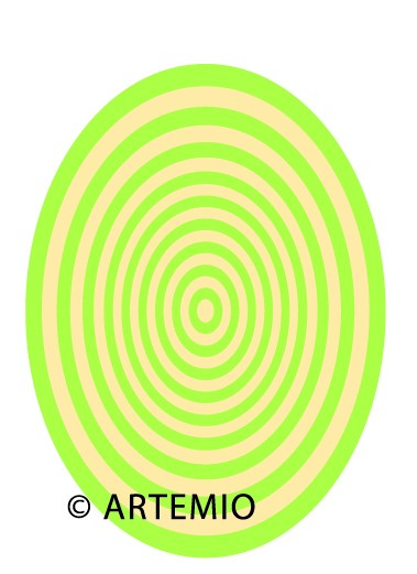 ARTEMIO Happycut Stanz-u. Prägeformen A 4 MEGAOvale 18034002