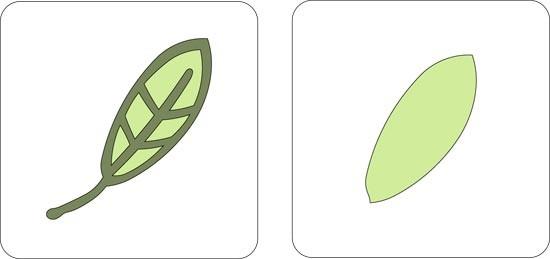Cuttlebug Stanzform 2-er Frühlingsblatt # 1 / spring leaf # 1 37-1095