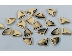 Miniaturecken gold