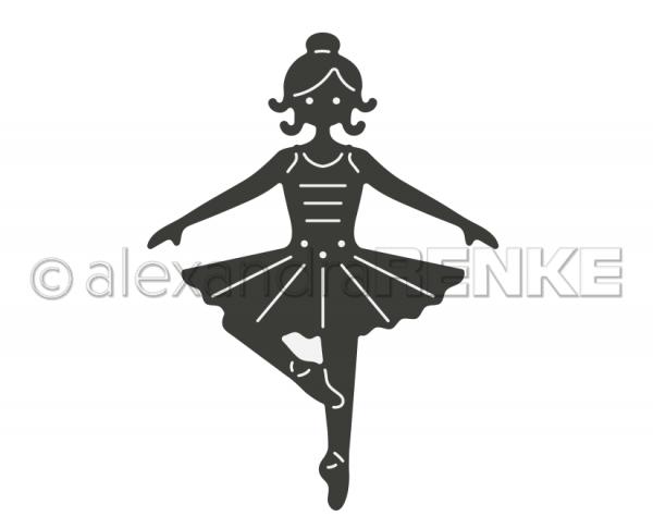 Alexandra Renke Stanzform Nussknacker Serie Ballerina D-AR-Ki0018
