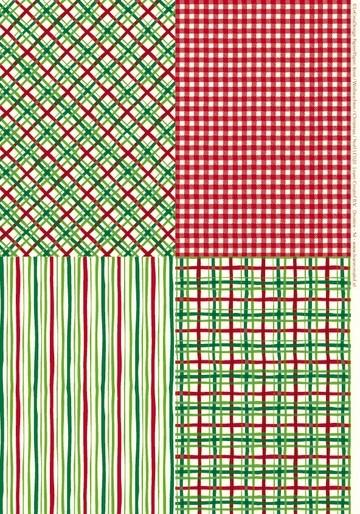 Hintergrundbogen Weihnachts-Design ROT A 4 ( 5 x ) 51.6097