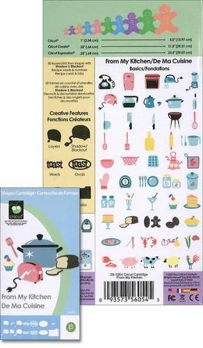 Cricut Cartridge From my kitchen 29-1054