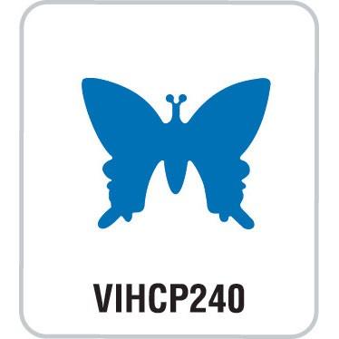 Motivstanzer medium Schmetterling VIHCP240 ( blau )
