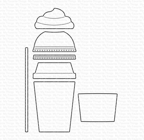 Dienamics Stanzform Mini-Kaffeebecher / Mini Cafe All Day MFT-1597