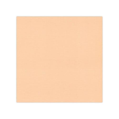 Leinenkarton Scrapbookpapier 30,5 cm x 30,5 cm ZALM ( Lachs ) ( 10 Blatt ) BLKG-SC09