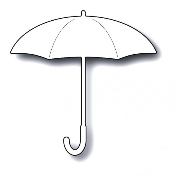 Memorybox Stanzform Regenschirm / Proper Umbrella 99639