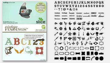 SLICE Design Karte Vintage Findings MS+ 33066