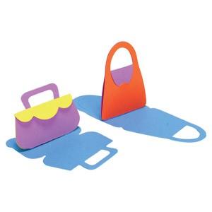 Schablone kl. Handtaschen / Purse Cards #1 NC 210 CLC (ACC BR 67 )