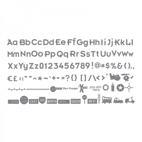Ecliipse Cartridge Wander Shapes & Alphabet # 2 657 541