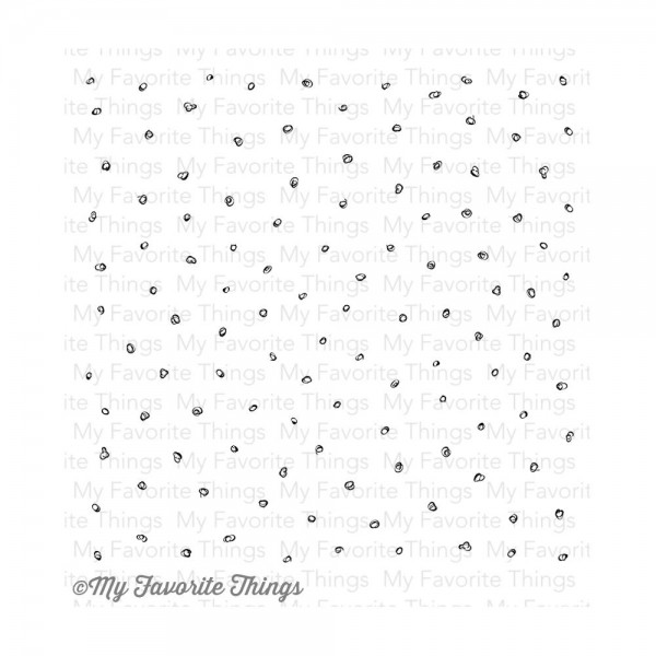 My Favorite Things Cling Stamp Circle Scribbles Background BG-64