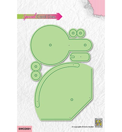 Nellie Stanzform Swing Card SWCD001