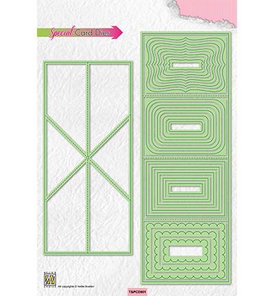 Nellie Stanzform Twist & Pop Card T&PCD001