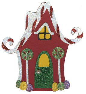 Lebkuchenhaus / gingerbread house 0869