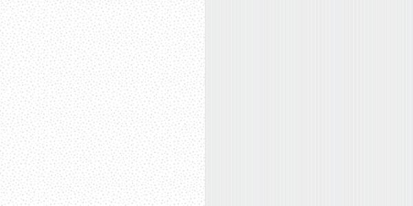 Dini Design Scrapbook-Papier Sterne / Streifen Silbergrau ( hell-grau ) 1007