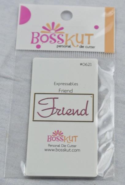 """Wort """" Friend """" / friend 0621"""