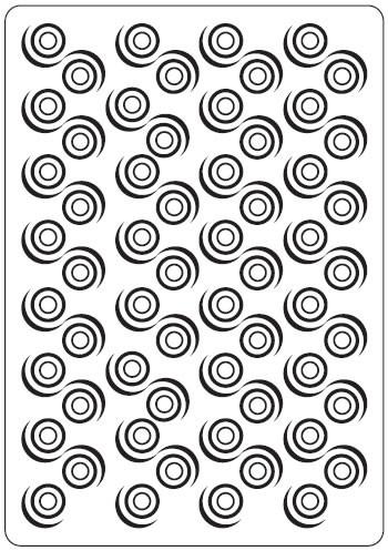 Crafts Too Prägefolder exclusiv Swirl CTFD3026