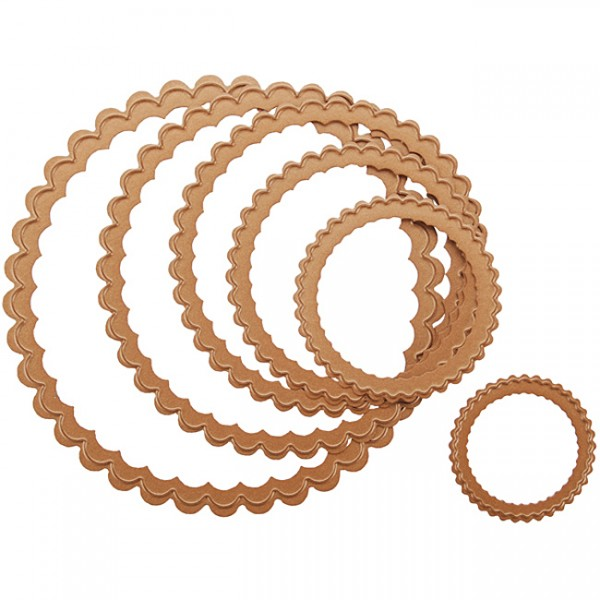 Spellbinders Stanzform Petite Kreise gewellt klein/petite scalloped circle small S4-117