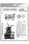 Tim Holtz Stempel French Marketplace CMS071