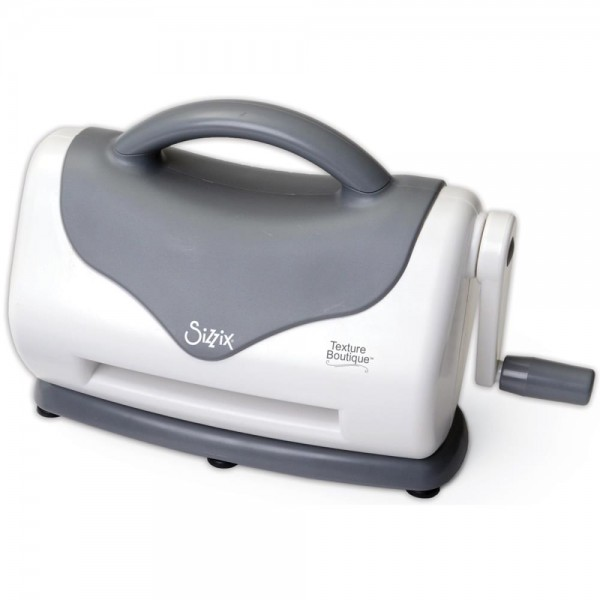 Sizzix Texture Boutique Embossing Maschine ( grau/weiss ) 660950