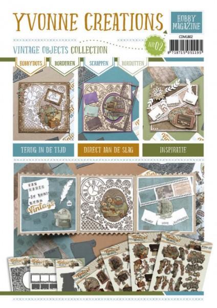 Yvonne Creations Hobby Magazine A 4 Vintage Objects Nr.2 CDM1802