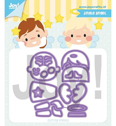Joycrafts Stanzform Jingle Angel 6002/1327