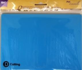 Trouvaille Ersatz-Platte KLEIN D Cutting 6200/0923 ( blau )
