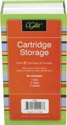 CGull Aufbewahrung für Cartridges Farbe ( grün / rot ) CGull