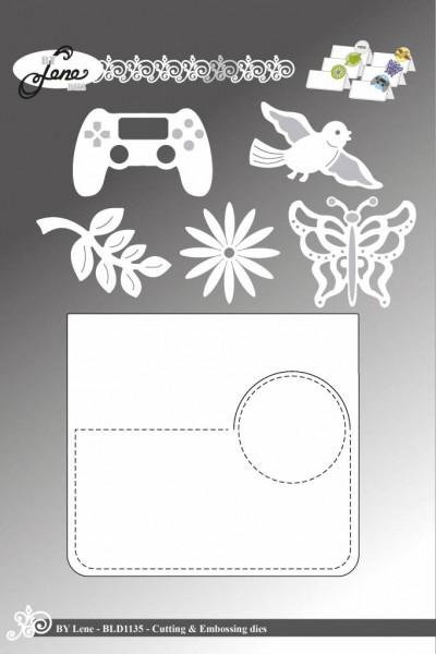 Lene Stanzform Tisch - / Platzkarte / Place Cards BLD1135