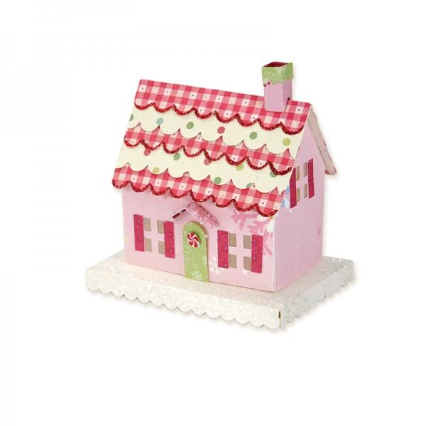 Sizzix Stanzform BIGZ XL Haus 3 - D / Country Cottage 3 - D 658743