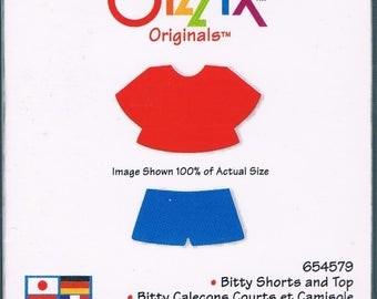 Sizzix Stanzform Original SMALL Shorts u. Top / bitty shorts & top 38-0117 / 654579