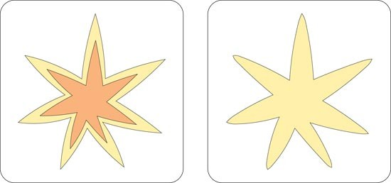 Cuttlebug Stanzform 2-er Stern / starburst 37- 1367